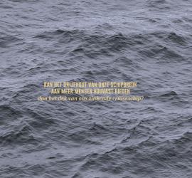 kan het drijfhout van onze schipbreuk aan meer mensen houvast bieden dan het dek van ons zinkende cruiseschip